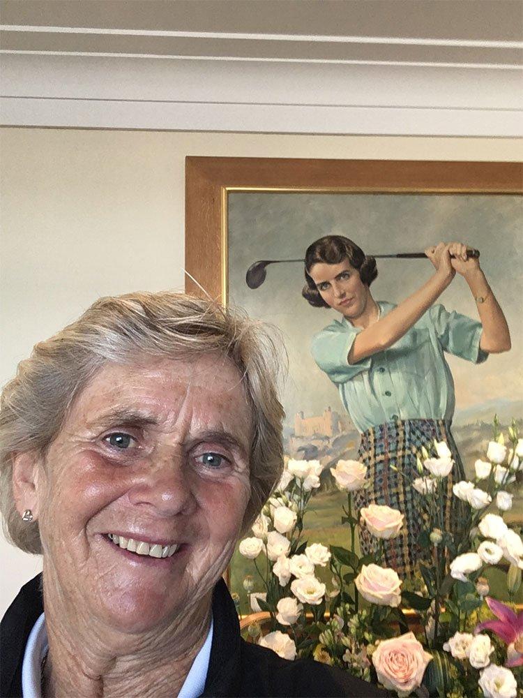 Bunty Smith @ The Open 2017