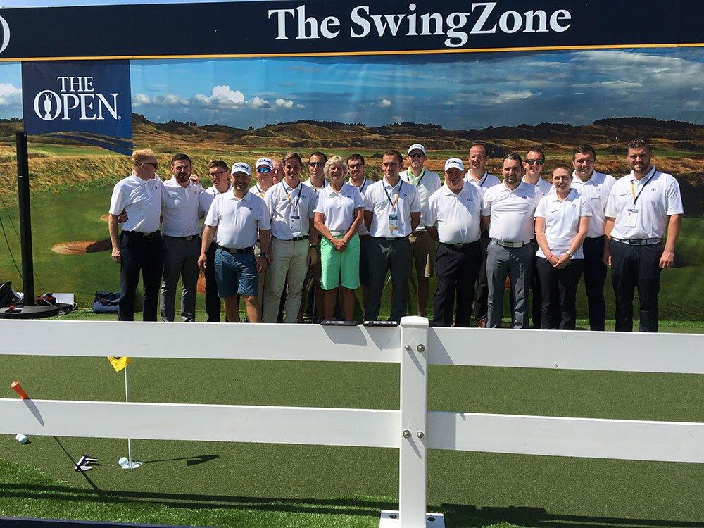 The Open 2017 Swing Zone