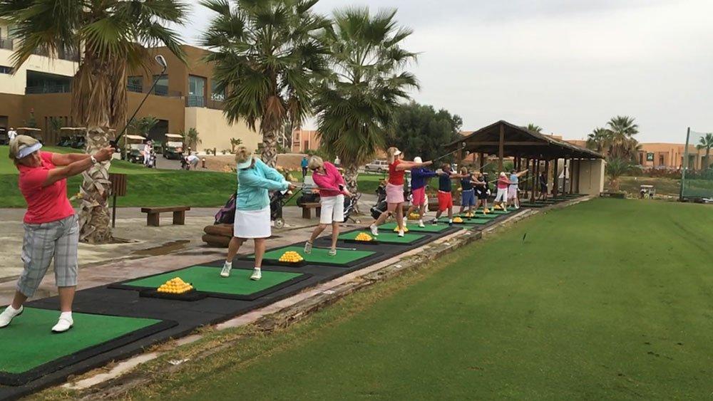 Valle del Este golf school 2017