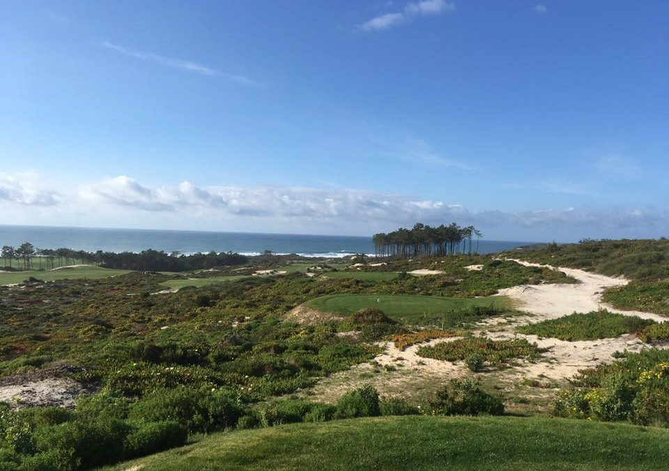 Praia d'el Rey golf school April 2018, Portugal