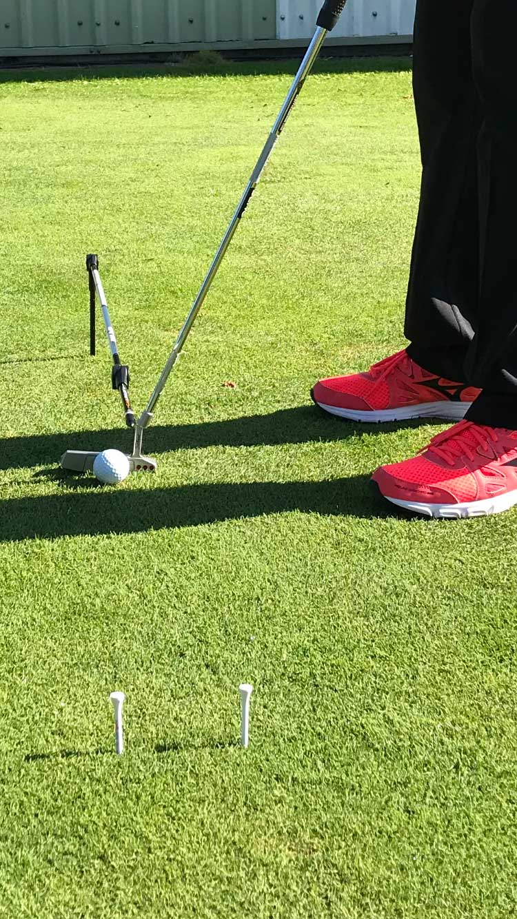 putting practice with Alignment Pro