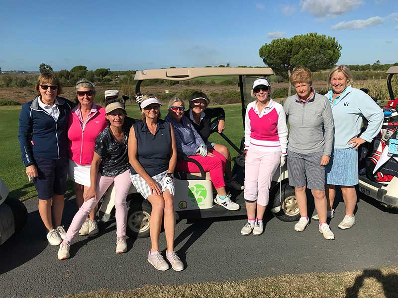 Burhill Ladies Golf School 2018